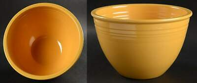 "Homer Laughlin FIESTA YELLOW (OLDER) 8 3/4"" Nested Mixing Bowl 221481"