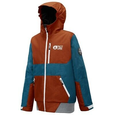 PICTURE Slope Jacket A Brick KVT035.ABr/ Children's Mountain Clothing