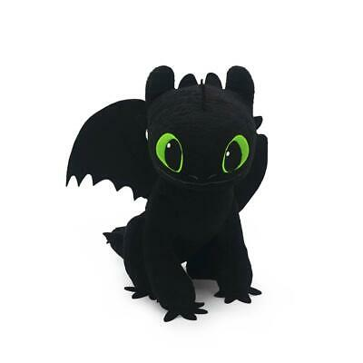 Official Licensed How to Train Your Dragon 3 TOOTHLESS Plush Doll Soft Toy 8""