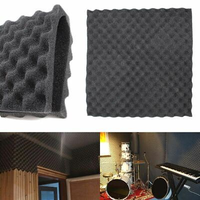 Soundproofing Absorbing Foam Home Studio Acoustic Absorber Sound Wall Tiles Pack