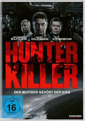 Hunter Killer [DVD] *NEU* DEUTSCH mit Gerard Butler, Gary Oldman, Billy Thornton