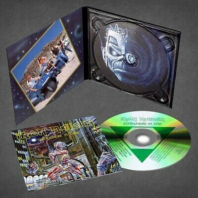 Iron Maiden - Somewhere in Time - New Digipak CD - Pre Order - 29th March