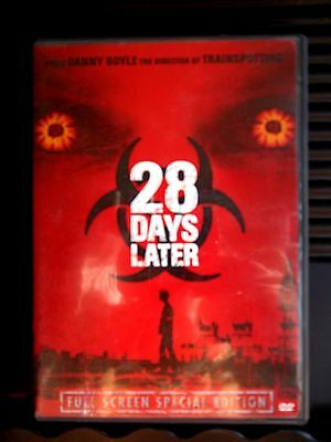 28 Days Later (DVD, 2003, Pan & Scan) WORLDWIDE SHIP AVAIL