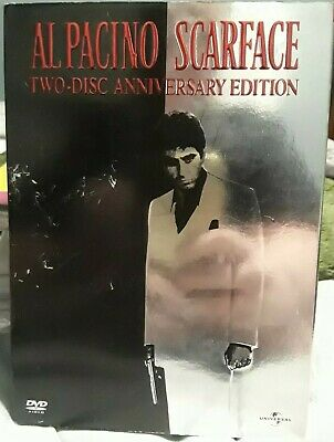 🖖 Scarface Al Pacino DVD (2-Disc Full Screen Anniversary Edition)