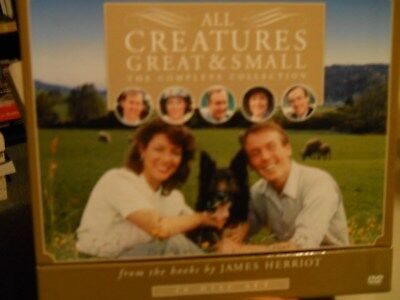 All Creatures Great & Small Complete Collection 28 DVD Disc Set Season 1-7