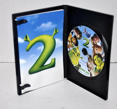 Rare Shrek 2 Ii Cd-Rom Movie Digital Press Kit W Production Notes Booklet & Case