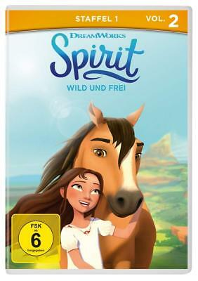 dvd Spirit - Riding Free- TV series season 1 Vol. 2  (5 Episodes) New Sealed R2