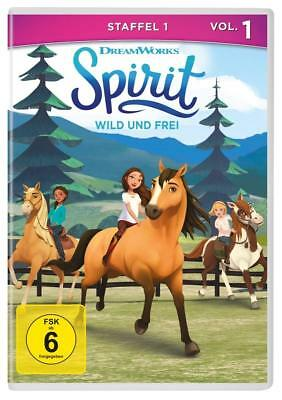dvd Spirit - Riding Free- TV series season 1 Vol. 1  (6 Episodes) New Sealed R2