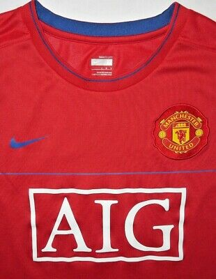d79427883 Mens GUC Red NIKE Fit Dry MUFC Manchester United Sleeveless Jersey size L