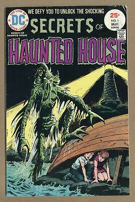 Secrets of Haunted House #1 1975 VG+ 4.5 Low Grade