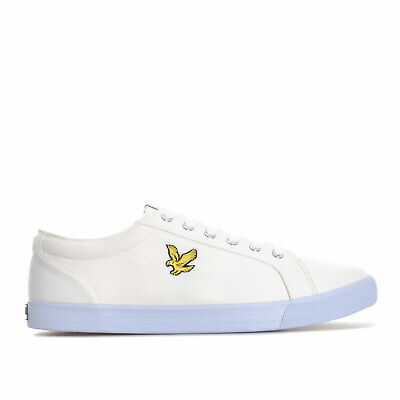 Mens Lyle And Scott Halket Trainers In White