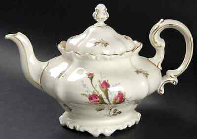 Rosenthal Continental MOSS ROSE (POMPADOUR) Tea Pot 4112469