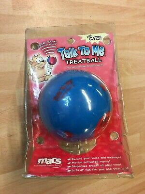 Talk To Me Treat Ball For Cats
