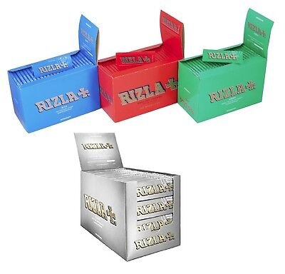 Rizla Regular Green Blue Cigarette Rolling Papers Genuine Original Fast Uk Post