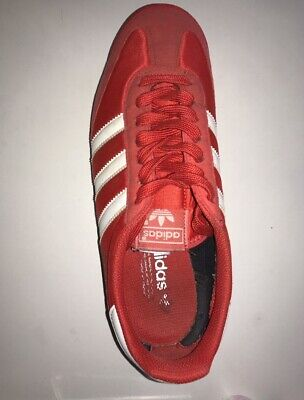 reputable site 47e75 956da Adidas Red Dragons Trainers Size 8