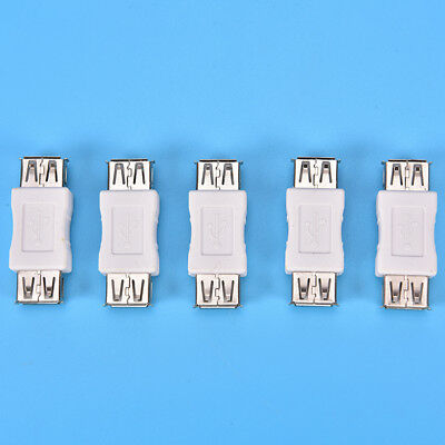 USB 2.0 Type A Female to Female Adapter Coupler Gender Changer Connector cb