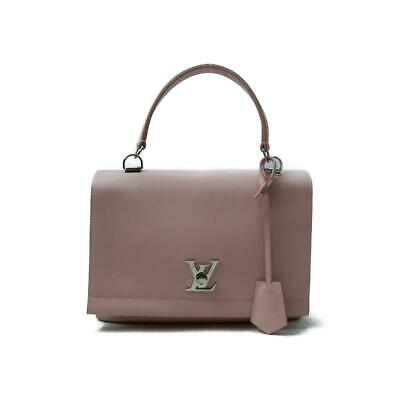 28c9a6aabe3 LOUIS VUITTON Lock Me 2 Cartable Shoulder Bag M50505 leather Rose Ballerine  Used