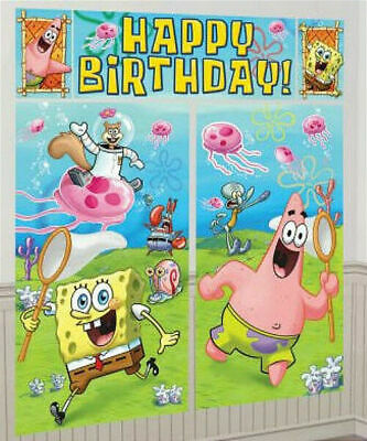 PHINEAS AND FERB Scene Setter HAPPY BIRTHDAY party wall decoration kit over 6/'