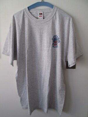 NEW - Fruit of the Loom Chicago Police Department Tee Shirt - NEW