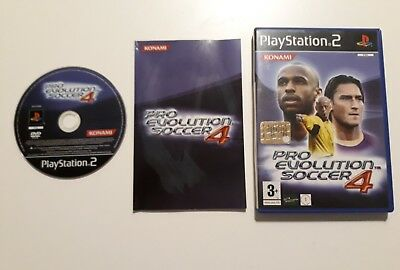 Pes 2009 Ps2 Custodia E Istruzioni Pro Evolution Soccer Video Games & Consoles
