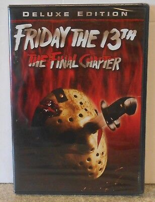 Friday the 13th  Part 4: The Final Chapter (DVD 2013) RARE 1984 HORROR BRAND NEW