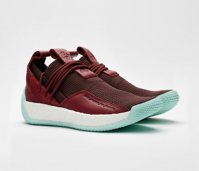 d0f28491e96f New adidas Harden LS 2 Lace II Boost James Red White Men Lifestyle Shoes  CG6277