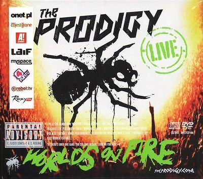 PRODIGY worlds on fire live _(2 CD/DVD)_