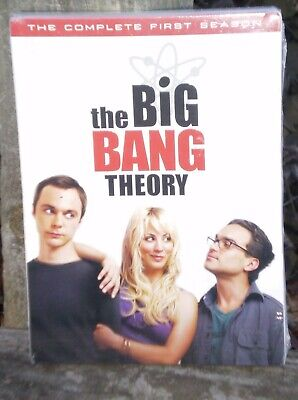 Big Bang Theory - The Complete First Season (DVD, 2008, 3-Disc Set) NEW Sealed