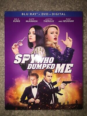 Spy Who Dumped Me (Blu-ray/DVD, 2018 2-Disc) Mila Kunis Kate McKinnon No Digital