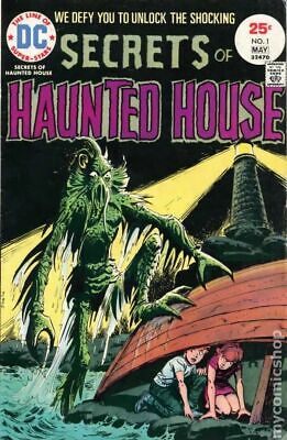 Secrets of Haunted House #1 1975 VG 4.0 Stock Image Low Grade