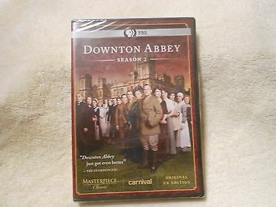 Downton Abbey: Season 2 (DVD, 2012, 3-Disc Set)**FACTORY SEALED** **GENUINE**