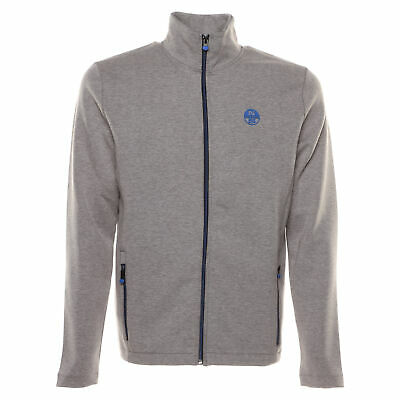 North Sails Full Zip Logo Felpa Uomo 691346 0926