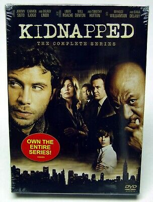 Kidnapped - The Complete Series (DVD, 2007, 3-Disc Set) - SEALED