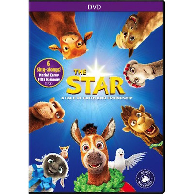 The Star (DVD, 2018) DVD only