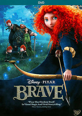 Brave (DVD, 2012) Free Shipping USA!