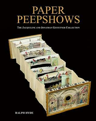 Paper Peepshows 1820s & Up Oversize Collector Reference w Color Photos
