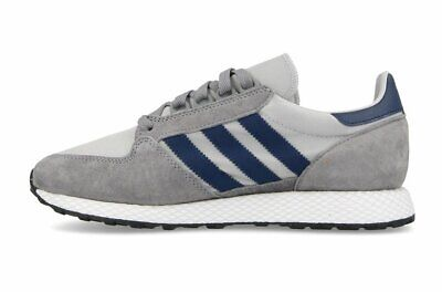 Adidas Originals Mens Forest Grove Trainers Running Shoes Sports Grey