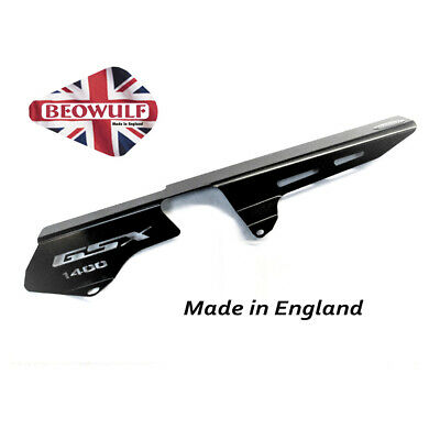 Suzuki GSX1400 (01-08) Black Stainless Steel Chain Guard Beowulf CGSU003B