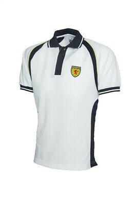 Scotland Football Polo Shirt Retro Style