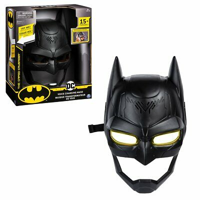 DC Batman The Cape Crusader Voice Changing Mask NEW