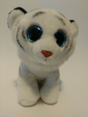 2015 Ty Beanie Boo Babies Tundra The White Tiger 9