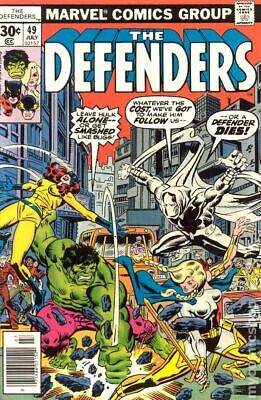 Defenders (1st Series) #49 1977 VG Stock Image Low Grade