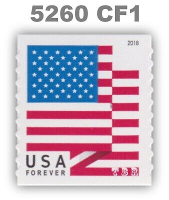 5260 (CF1) Postal Counterfeit US Forever Flag Design Single 2018 MNH - Buy Now