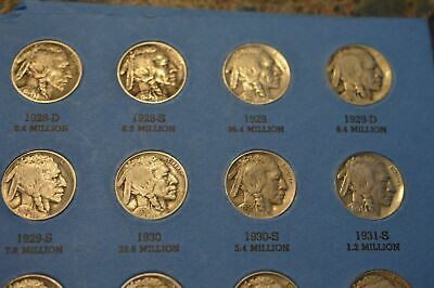 Rare Buffalo Nickel Collection 1913-38! 39 Total Coins! *5 Awesome Keys! Low S/h