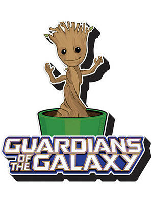 New Funky Chunky Magnet Guardians of the Galaxy 2 Movie Marvel Baby Groot