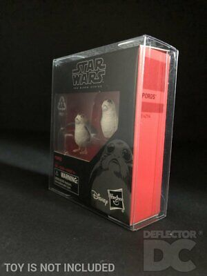 Star Wars The Black Series Porgs Protective Display Case