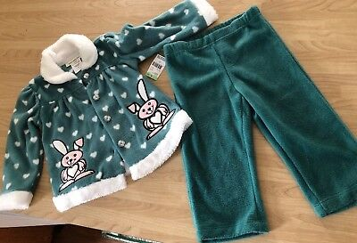 1ee4d97c0 TOUGHSKINS OUTFIT SET Baby 12 18 Months Leggings Top Stars Girls ...