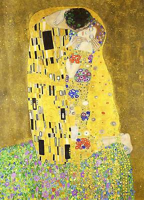 Gustav Klimt: The Kiss, 1907 - Fine Art Greeting Card