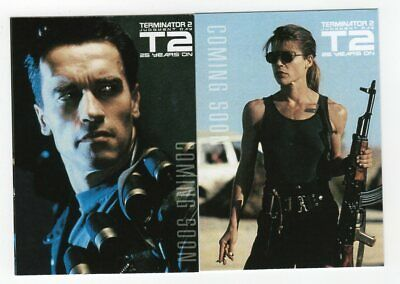 PROMO 2017 Unstoppable Cards - Terminator 2 - 2-card promo set (unnumbered)