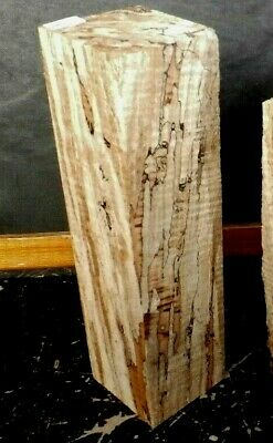 Black line Spalted Curly Maple Wood 9457 ONE PC. ARTs N CRAFTS  14x 3.75x 3.75